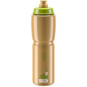 Elite Jet Green Drinking Bottle 950ml, green brown/white logo